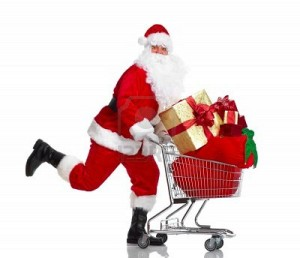 santa-claus-with-gifts-and-shopping-trolley